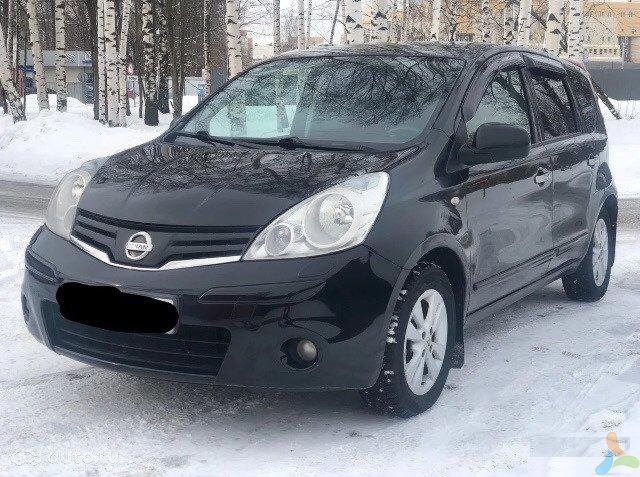 Nissan Note 1.6 AT, 2010, хетчбэк