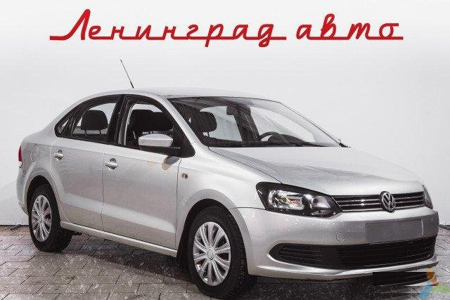 Volkswagen Polo 1.6 МТ, 2012, седан