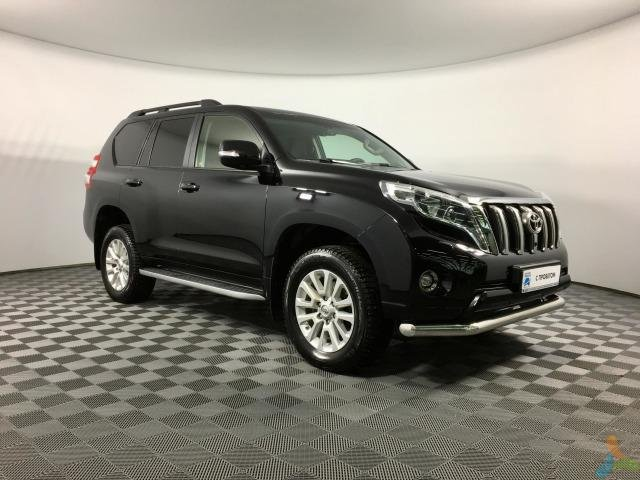 Toyota Land Cruiser Prado 4.0 AT, 2017, внедорожник