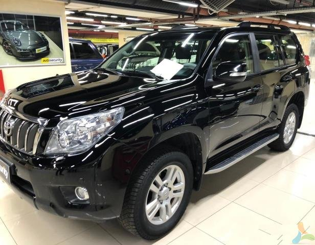 Toyota Land Cruiser Prado 3.0 AT, 2011, внедорожник